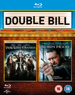 Snow White and the Huntsman/ Robin Hood (2012) (Blu-ray) (with UltraViolet Copy) (Retail Only)