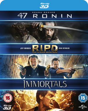 47 Ronin/RIPD/Immortals (2013) (Blu-ray) (Retail Only)