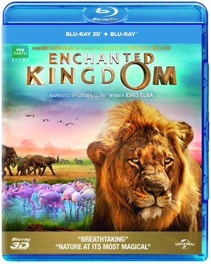 Enchanted Kingdom (2014) (Blu-ray) (3D Edition with 2D Edition) (Retail / Rental)