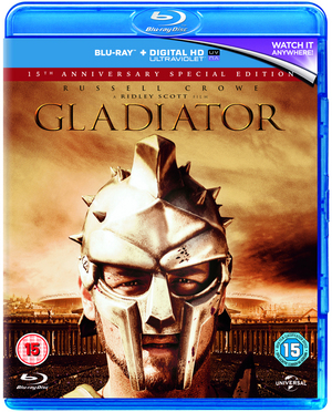Gladiator (2000) (Blu-ray) (with UltraViolet Copy (15th Anniversary Edition)) (Retail Only)
