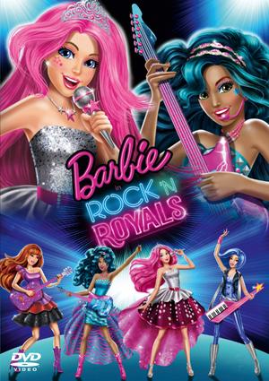 Barbie in Rock 'N' Royals (2015) (Retail / Rental)