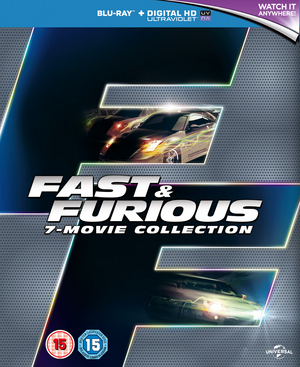Fast & Furious - 7 Movie Collection (2015) (Blu-ray) (Box Set with UltraViolet Copy) (Retail Only)