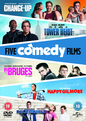 The Change-up/Tower Heist/Happy Gilmore/In Bruges/Role Models (2011) (Retail Only)