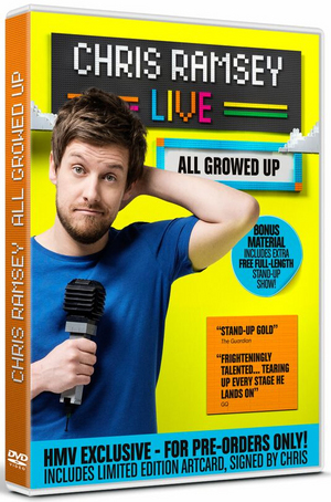 Chris Ramsey: All Growed Up (Hmv Exclusive With Signed Postcard) (2015) (Retail Only)