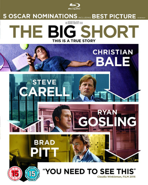 The Big Short (2016) (Blu-ray) (Retail Only)