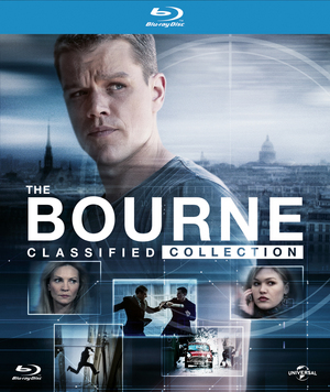 The Bourne Classified Collection (2012) (Blu-ray) (Digibook) (Retail Only)