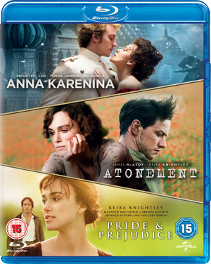 Anna Karenina/Atonement/Pride and Prejudice (2012) (Blu-ray) (Retail Only)