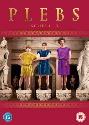 Plebs: Series 1-3 (2016) (Retail Only)
