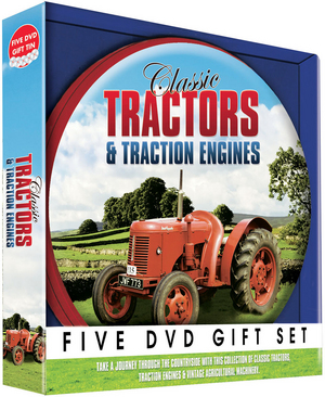 Classic Tractors and Traction Engines (Box Set) (Pulled)