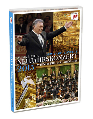New Year's Concert: 2015 - Vienna Philharmonic (Mehta) (2015) (Retail / Rental)