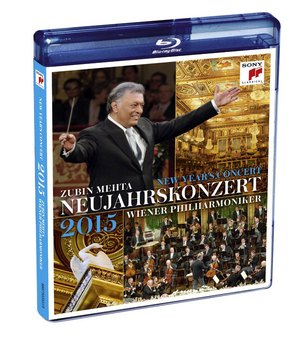 New Year's Concert: 2015 - Vienna Philharmonic (Mehta) (2015) (Blu-ray) (Retail / Rental)