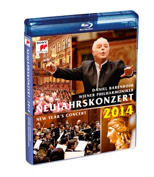 New Year's Concert: 2014 - Vienna Philharmonic (Barenboim) (2014) (Blu-ray) (Retail / Rental)