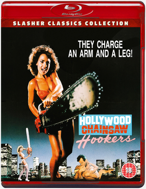 Hollywood Chainsaw Hookers (1988) (Blu-ray) (Retail / Rental)