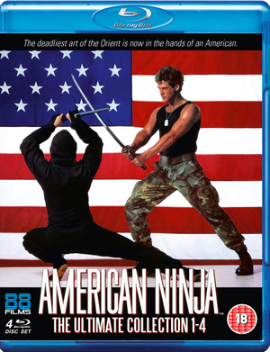 American Ninja: Collection (1990) (Blu-ray) (Box Set) (Retail / Rental)