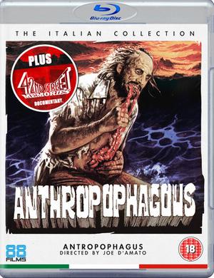 Anthropophagus (1980) (Blu-ray) (Retail / Rental)
