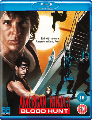 American Ninja 3 - Bloodhunt (1989) (Blu-ray) (Retail / Rental)