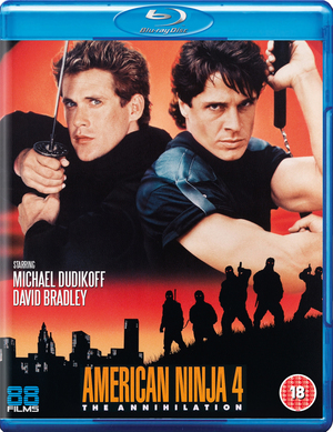 American Ninja 4 - The Annihilation (1990) (Blu-ray) (Retail / Rental)