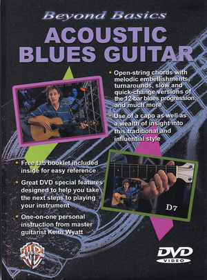 Beyond Basics: Acoustic Blues Guitar (Retail Only)