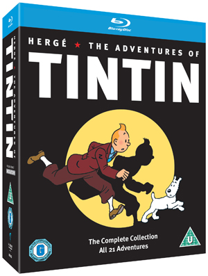 The Adventures of Tintin: Complete Collection (1991) (Blu-ray) (Box Set) (Retail / Rental)