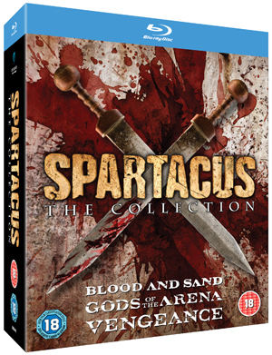 Spartacus Collection (2012) (Blu-ray) (Box Set) (Deleted)