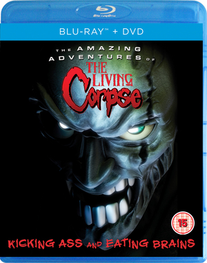 The Amazing Adventures of the Living Corpse (2012) (Blu-ray) (with DVD - Double Play) (Retail / Rental)
