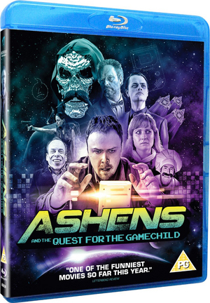 Ashens and the Quest for the Gamechild (2013) (Blu-ray) (with DVD - Double Play) (Retail / Rental)