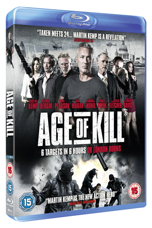 Age of Kill (2015) (Blu-ray) (Retail / Rental)