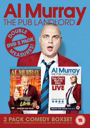 Al Murray - The Pub Landlord: Live - 1 and 2 (2012) (Retail / Rental)
