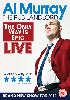 Al Murray: The Only Way Is Epic Tour (2012) (Retail / Rental)
