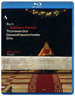 Bach: Matthaus Passion (Thomanerchor Leipzig) (2012) (Blu-ray) (Retail / Rental)