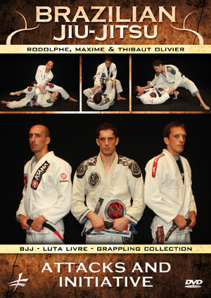 Brazilian Jiu-Jitsu: Attacks and Initiative (Retail / Rental)