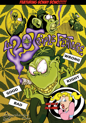 420 Triple Feature (2012) (Retail Only)