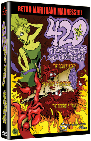 420 Triple Feature: Volume 2 - Contact High (1951) (Retail / Rental)