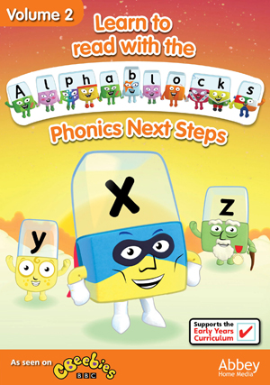 Alphablocks: Volume 2 - Phonics Next Steps (Retail / Rental)