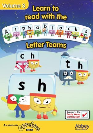 Alphablocks: Volume 3 - Letter Teams (Retail / Rental)