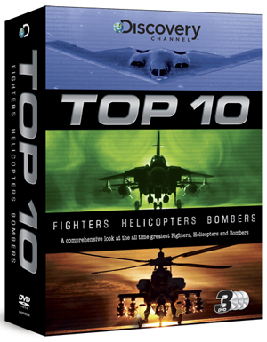 Discovery Channel: Top 10 Aircraft (2011) (Box Set) (Deleted)
