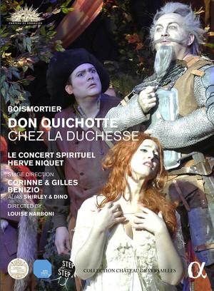 Don Quichotte Chez La Duchesse: Le Concert Spirituel (2015) (Retail / Rental)