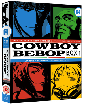Cowboy Bebop: Part 1 (1998) (Blu-ray) (Collector's Edition) (Deleted)
