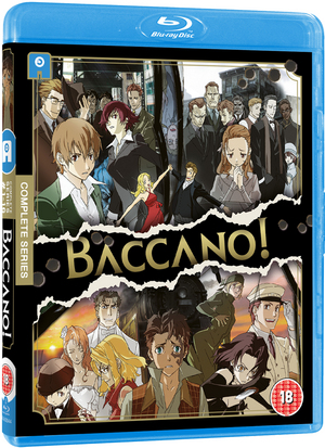 Baccano!: The Complete Collection (2008) (Blu-ray) (Collector's Edition Box Set) (Deleted)