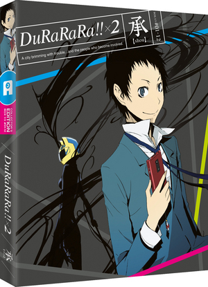 Durarara!!x2 (2015) (Blu-ray) (Collector's Edition) (Retail / Rental)