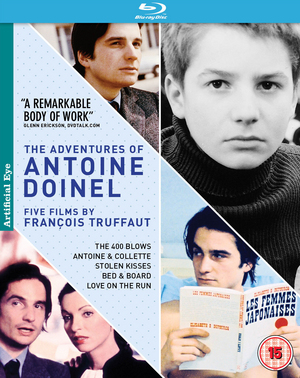 The Adventures of Antoine Doinel: Five Films By François Truffaut (1979) (Blu-ray) (Box Set) (Retail / Rental)
