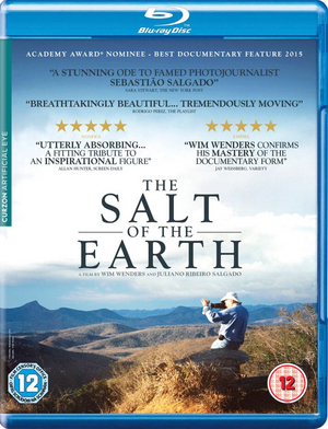 The Salt of the Earth (2014) (Blu-ray) (Retail / Rental)