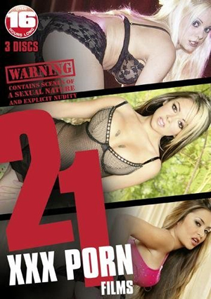 21 XXX Porn Films (Retail / Rental)