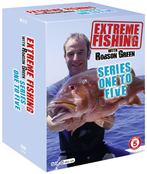 Extreme Fishing With Robson Greene: Series 1-5 (2012) (Box Set) (Retail / Rental)