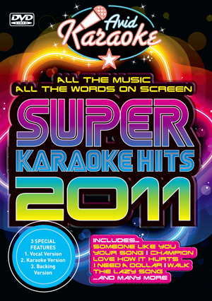 Super Karaoke Hits 2011 (2011) (Retail / Rental)