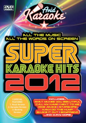 Super Karaoke Hits 2012 (2012) (Retail / Rental)