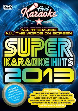 Super Karaoke Hits 2013 (2013) (Retail / Rental)