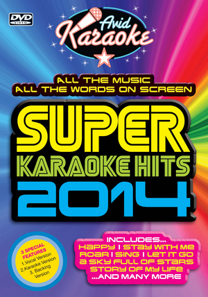 Super Karaoke Hits 2014 (2014) (Retail / Rental)