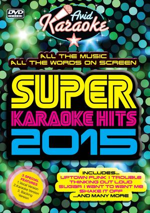 Super Karaoke Hits 2015 (2015) (Retail / Rental)