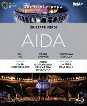 Aida: Arena Di Verona (Meir Wellber) (2013) (Blu-ray) (Retail / Rental)